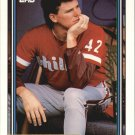 1992 Topps Gold 484 Mike Hartley