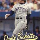 1997 Ultra Gold Medallion 183 Dante Bichette
