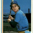 1982 Topps 497 Jim Anderson