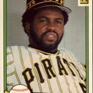 1982 Donruss 653 Bill Madlock