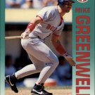 1992 Fleer 39 Mike Greenwell