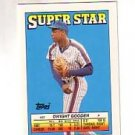 1988 Topps/O-Pee-Chee Sticker Backs 25 Dwight Gooden