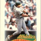 1989 Topps Mini Leaders 68 Jose Canseco