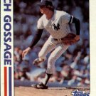 1982 Topps 771 Rich Gossage IA