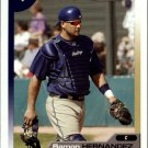 2005 Topps Total 34 Ramon Hernandez