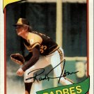 1980 Topps 305 Randy Jones