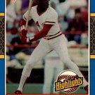 1987 Donruss Highlights 8 Eric Davis