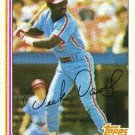 1982 Topps 352 Dick Davis