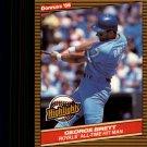 1986 Donruss Highlights 3 George Brett