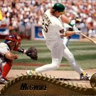 1995 Pinnacle 196 Mark McGwire