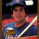 1986 Donruss Highlights 19 Kent Hrbek
