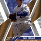 2008 Upper Deck X 49 Zack Greinke