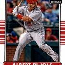 2015 Donruss 101 Albert Pujols