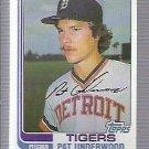 1982 Topps 133 Pat Underwood