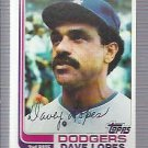 1982 Topps 740 Dave Lopes
