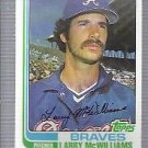 1982 Topps 733 Larry McWilliams