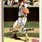 1982 Topps 476 Brian Kingman
