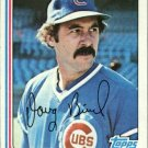 1982 Topps 273 Doug Bird