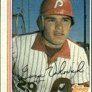 1982 Topps 389 George Vukovich