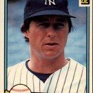 1982 Donruss 486 Bobby Murcer