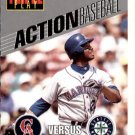 1993 Triple Play Action 24 Ken Griffey Jr.