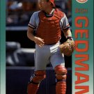 1992 Fleer 577 Rich Gedman