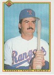 1990 Bowman 496 Rafael Palmeiro