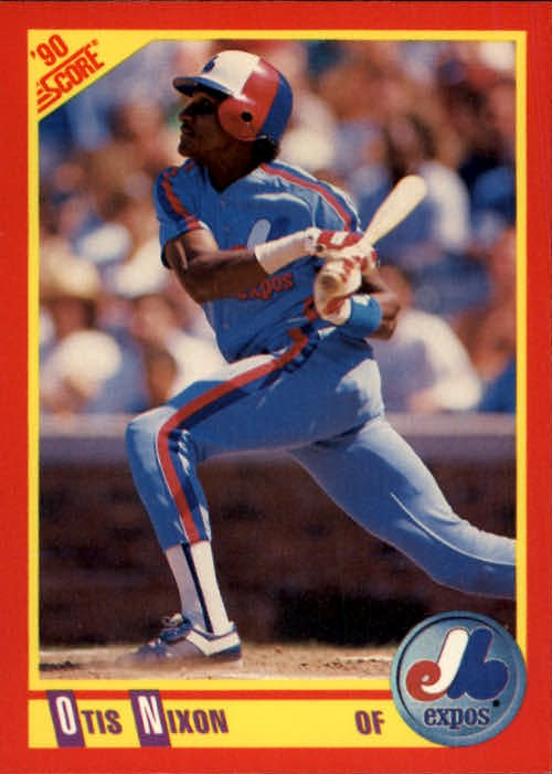 1990 Score 241 Otis Nixon