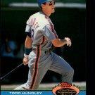 1991 Stadium Club #349 Todd Hundley