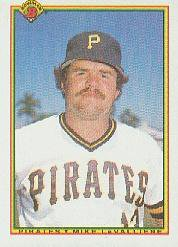 1990 Bowman 172 Mike LaValliere