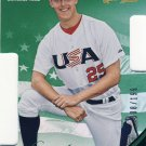 2013 USA Baseball Champions Legends Certified Die-Cuts Mirror Green #22 Jameson Taillon