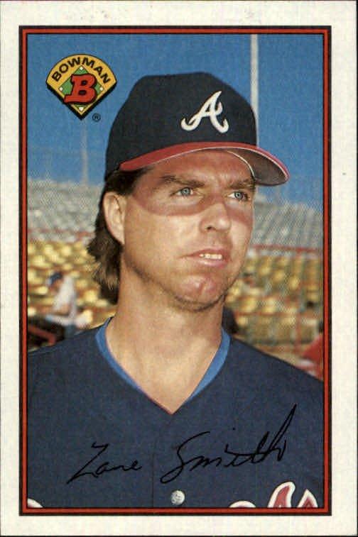 1989 Bowman #262 Zane Smith
