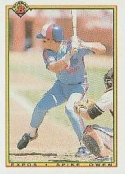 1990 Bowman 116 Spike Owen