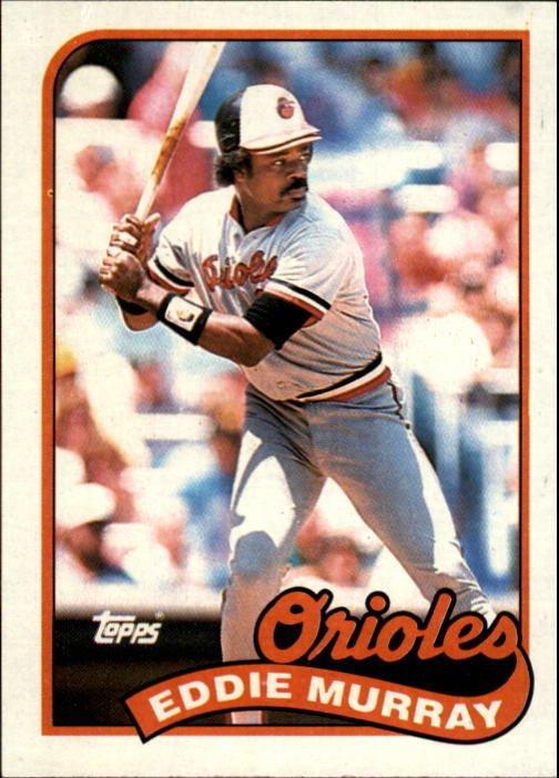 1989 Topps 625 Eddie Murray