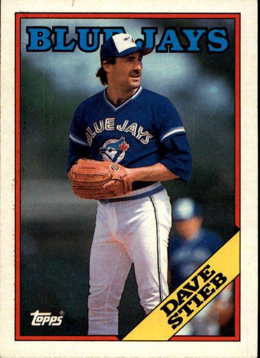 1988 Topps 775 Dave Stieb