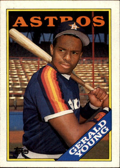 1988 Topps 368 Gerald Young