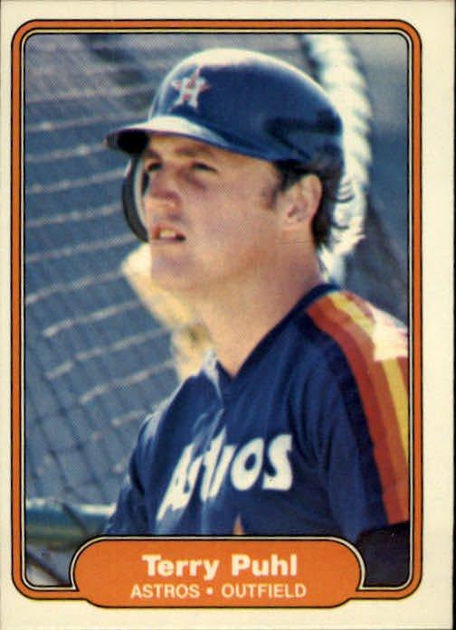 1982 Fleer 223 Terry Puhl