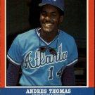 1987 Fleer Baseball All-Stars 42 Andres Thomas