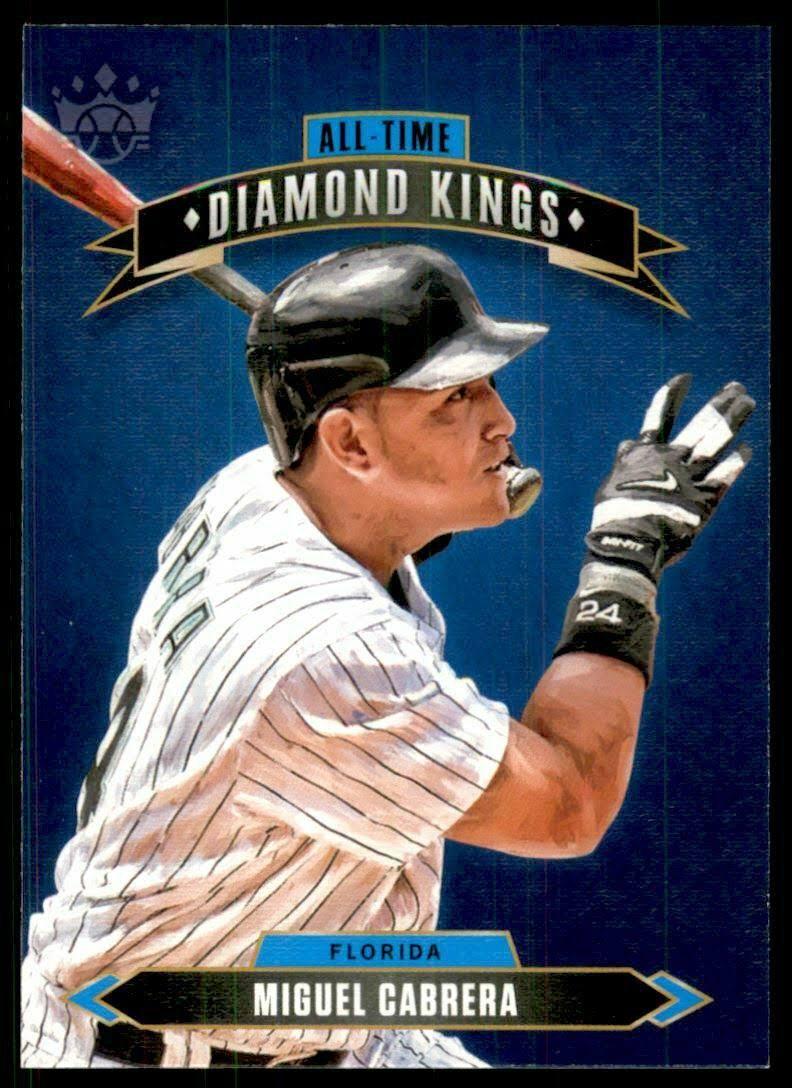 2020 Diamond Kings All-Time Diamond Kings 25 Miguel Cabrera