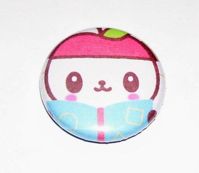 Sanrio Pandapple, japanese kawaii pinback badge