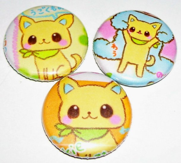 Chihuahua, japanese pin pinback button badge set