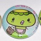 SUSHI BIRD japanese kawaii button magnets