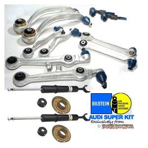 BILSTEIN Audi A4 A6 SUPER Control Arm Arms KIT! 16 PC's