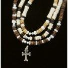 Faith Gear Silver Cross Necklace
