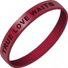 True Love Waits Wristband - Abstinence and Purity Wristband