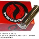 Swift Lite Charcoal Tablets - 10 Rolls - Self-lighting and long-burning