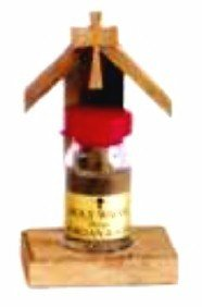 """Olivewood Nativity with Holy Oil  2"""" x 3.5"""""""