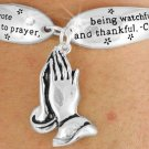 "Colossians  4:2, ""Devote Yourselves To Prayer, Being Watchful And Thankful -  Bracelet"
