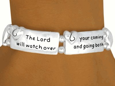 The Lord Will Watch Over Your Coming And Going Both Now And Forevermore -  Bracelet