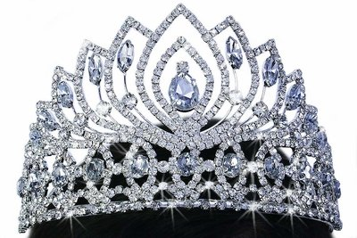 Beautiful Tiara - Glittering Style!